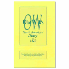 Olof Wijk's North American Diary of 1829