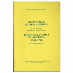 Olof Stille in New Sweden